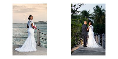 mariage: scènes de jour à la Créole Beach, Le Gosier, Guadeloupe
