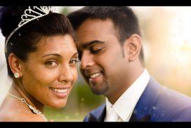portrait de mariés guadeloupe mariage indien